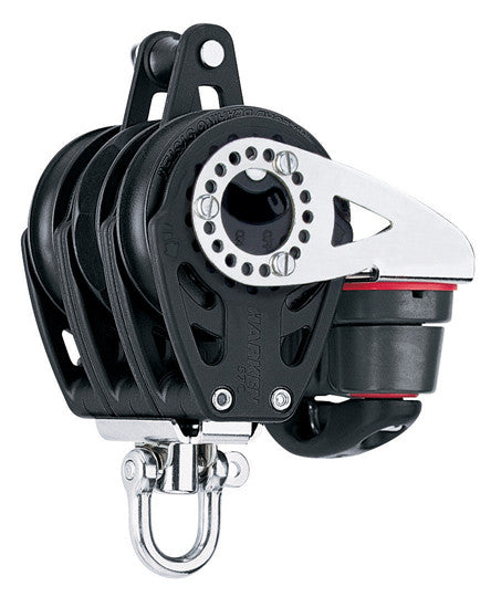 HARKEN 57 CARBO RATCHET BLOCK TRIPLE BKT CAM