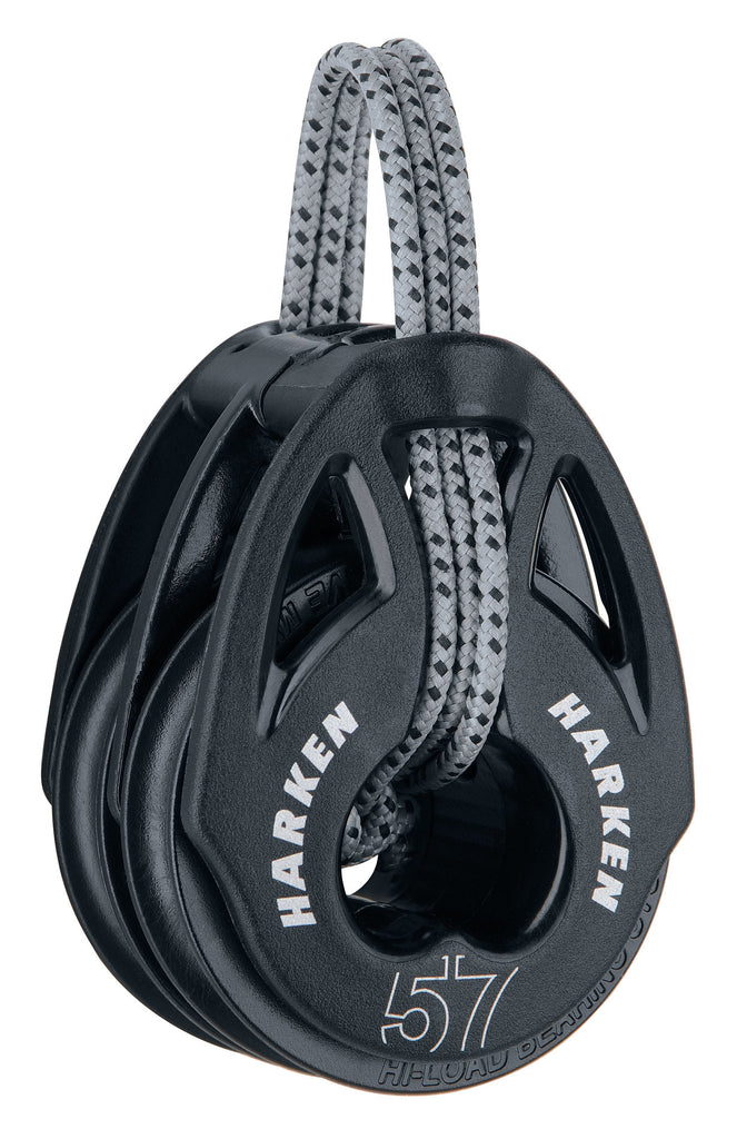 HARKEN BLOCK CARBO 57MM DOUBLE T2