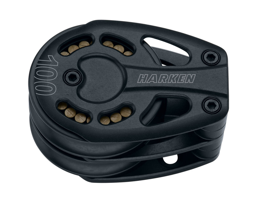HARKEN BLACK MAGIC DOUBLE FOOT BLOCK 100MM