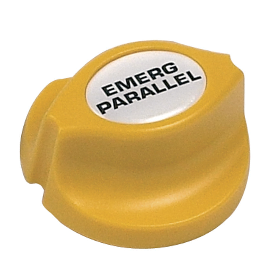 BATTERY SWITCH KEY ONLY YELLOW
