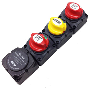 BATTERY SWITCH CLUSTER DVSR VERT BEP