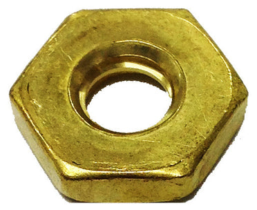 BRASS HEX NUTS NARROW