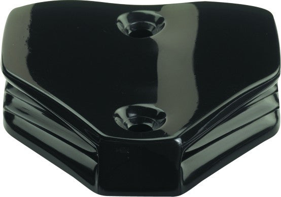 CLAMCLEAT HORIZONTAL BLACK 6-1MM