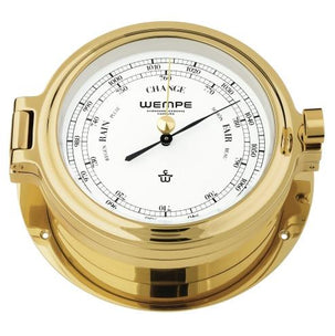 WEMPE Barometer Brass 140mm Ø, hPa/mmHg (CUP Series)