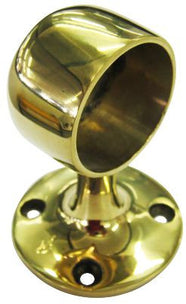 STANCHION END BRASS DAVEY