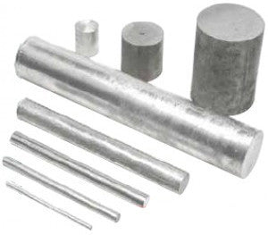 DLM Zinc Rod Anodes 35mm