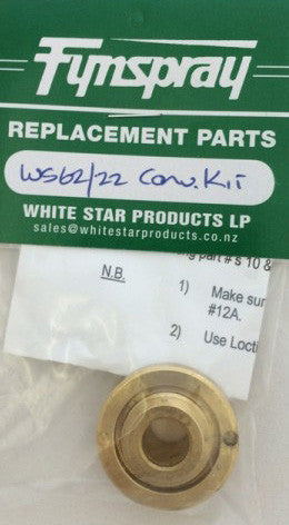 FYNSPRAY PUMP CONVERSION KIT WS62/22 FYN.12.52A