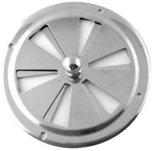 HOMER BUTTERFLY VENT CENTRE KNOB 34 S/S