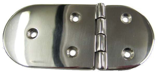 HOMER ROUND HATCH HINGE SHORT/LONG S/S HOM867