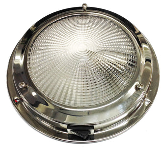 CABIN LIGHT DOME S/S 140MM