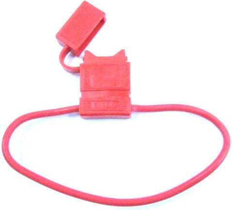 FUSE HOLDER BLADE TYPE RED ELE.WAFH14