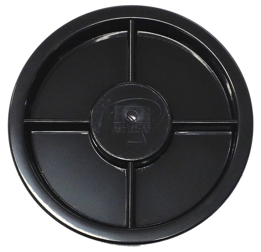 NAIRN INSPECTION PORT LID ONLY 4 INCH BLACK