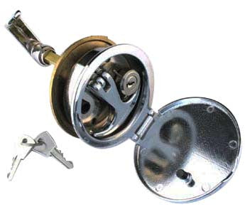 FLUSH HATCH LOCK CP BRONZE HD OR2863CP