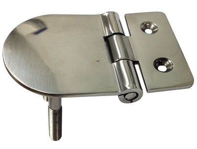 HEAVY DUTY FLUSH HINGE 2 STUD S/S OR354