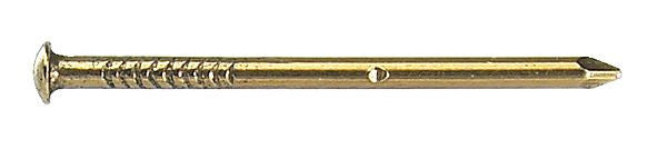 BRASS PANEL PINS ROUND HEAD 5g