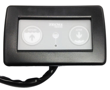 TECMA TOILET CONTROL PANEL STD 2 BUTTON
