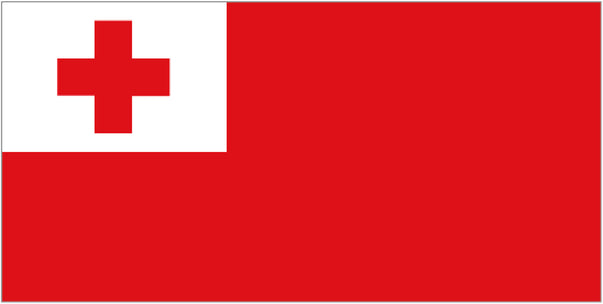 FLAG TONGAN  ENSIGN