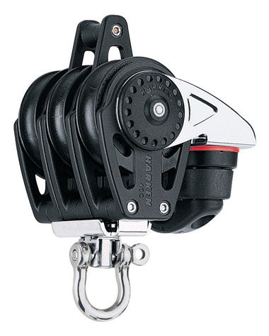 HARKEN CARBO BLOCK TRIPLE CAM BKT 40MM