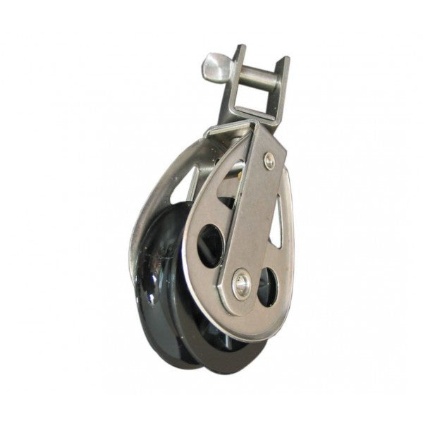 CLEVECO BLOCK SINGLE 60MM SWIVEL