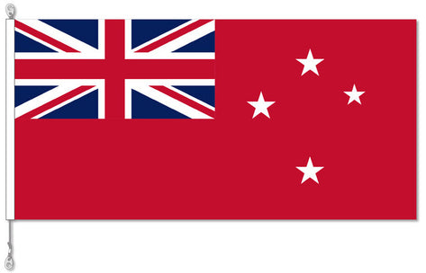 FLAG NZ RED ENSIGN