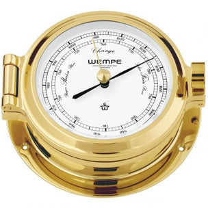 WEMPE Barometer Brass 120mm Ø, hPa/mmHg (NAUTICAL Series)