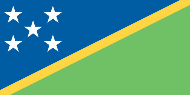 FLAG SOLOMON ISLANDS ENSIGN
