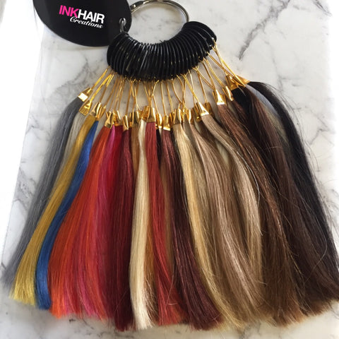 Ink Hair Extension Colour Ring