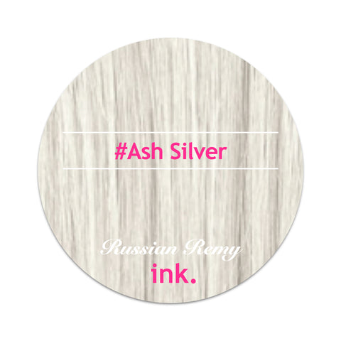 #ASH Silver Ponytail Hair Extension 22""