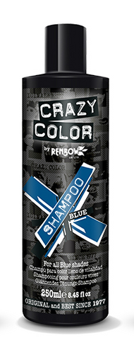 CRAZY COLOUR Vibrant Shampoo BLUE