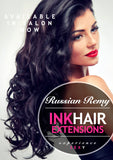 CLIP IN HAIR EXTENSIONS RUSSIAN REMY FULL SET