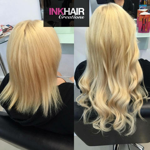 Paris Full Head of Russian Ink Hair Extensions 150g