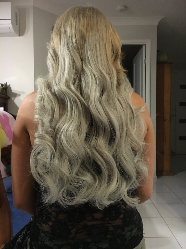 Double Full Head Of Ink Russian Hair Extensions 200g Ink Hair