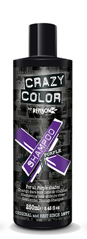 CRAZY COLOUR Vibrant Shampoo PURPLE