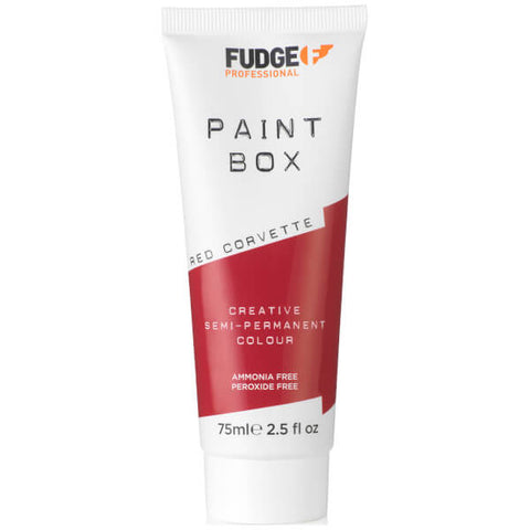 PAINTBOX FUDGE Red Corvette
