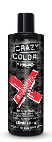 CRAZY COLOUR Vibrant Shampoo RED