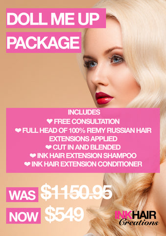 Doll Me Up Package