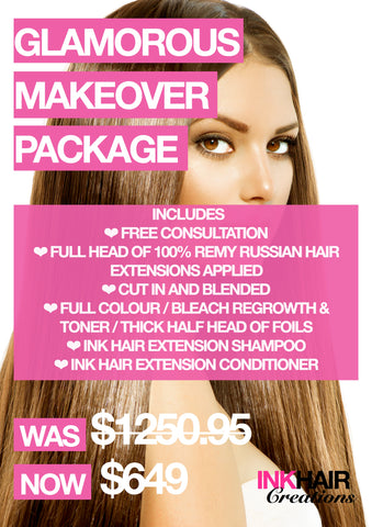 Glamorous Make Over Package