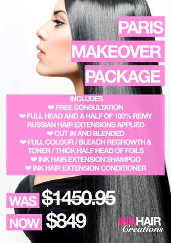 Paris Make Over Package