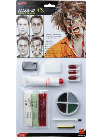 Natural zombie makeup kit