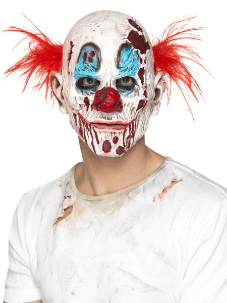 Zombie Clownmaske Schaumstoff Latex