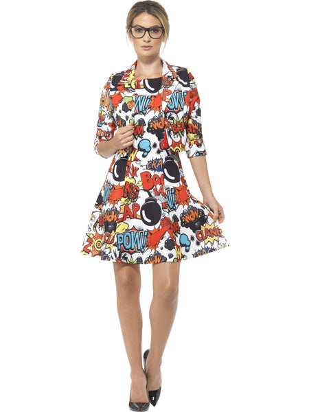 Comic Strip Kleid Pop Art Kleid