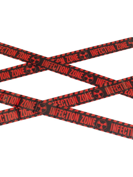 Infektion Zone Tape Deko