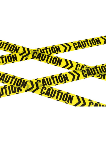 Caution Tape Deko