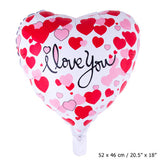 """I LOVE YOU"" Herz Folienballon"