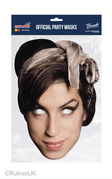 Amy Winehouse Celebrity Maske Rubies Mask-arade
