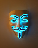 LED Guy Fawkes Maske Electric Wire Vendetta