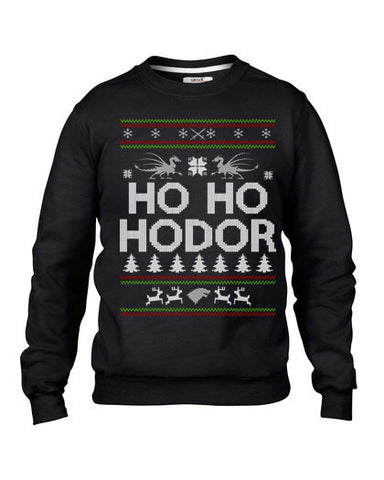 Ho Ho Hodor Ugly Christmas Sweater