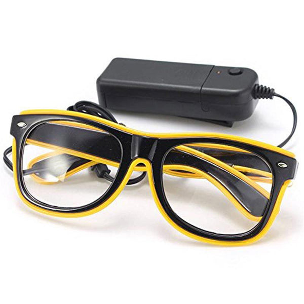 LED Brille EL wire glasses