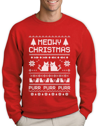 Meowy Katzen - Ugly Christmas Sweater