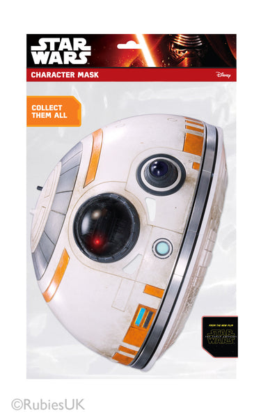 BB-8 Star Wars The Force Awakens Maske Rubies Mask-arade